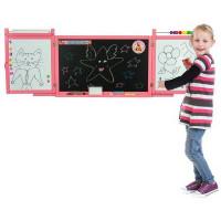 Fali rajztábla Inlea4Fun FIRST SCHOOL - Rózsaszín