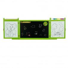 Inlea4Fun FIRST SCHOOL fali rajztábla - Zöld Előnézet