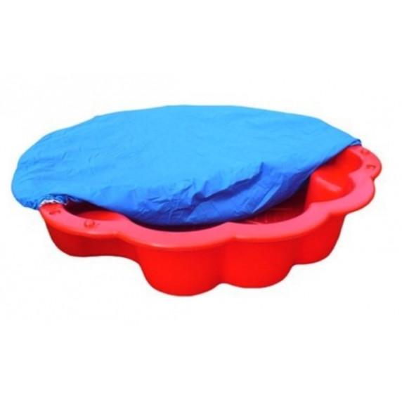 Inlea4Fun Margaréta homokozó takaróval - piros