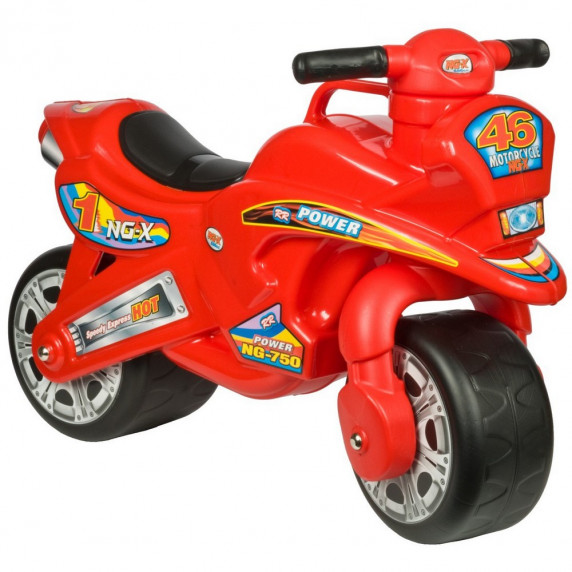 Lábbal hajtós kismotor Inlea4Fun NG-X Power - Piros