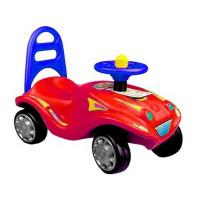 Lábbal hajtós kisautó Inlea4Fun Mini Mobile - Piros