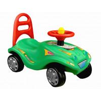 Inlea4Fun Mini Mobile lábbal hajtós kisautó - Zöld