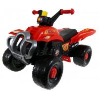 Pedálos négykerekű jármű Inlea4Fun Big Quad - Piros