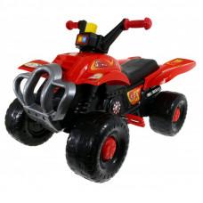 Inlea4Fun Big Quad pedálos négykerekű jármű - Piros Előnézet