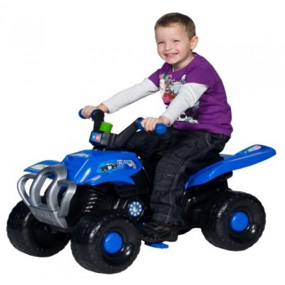Inlea4Fun Big Quad pedálos négykerekű jármű - Kék