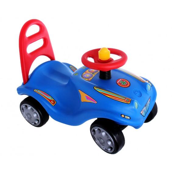 Inlea4Fun Mini Mobile lábbal hajtós kisautó - Kék