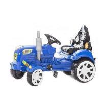 Inlea4Fun Big Farmer pedálos traktor - Kék