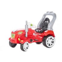 Inlea4Fun Big Farmer pedálos traktor - Piros