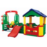 Inlea4Fun 4M kerti játszótér csúszdával és hintával