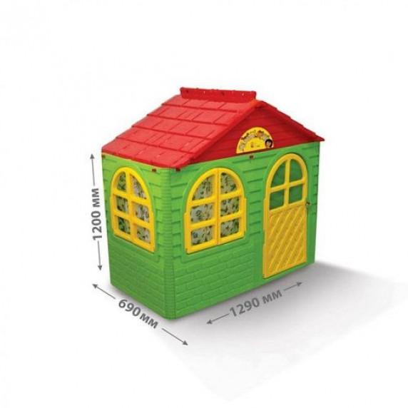 Kerti játszóház 69x129x120 cm Inlea4Fun DANUT - Zöld