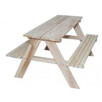 Inlea4Fun ZO Kerti játszó pad piknik asztal