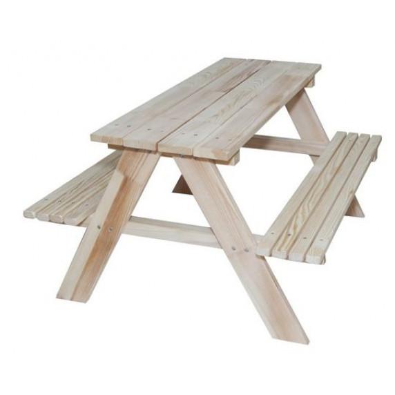 Kerti játszó pad piknik asztal Inlea4Fun ZO