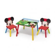 Gyerekasztal székekkel - Mickey egeres  Előnézet