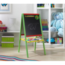 Állványos mágnes- és rajztábla MMCB01 - zöld Előnézet