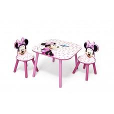 Gyerekasztal székekkel - Minnie egeres  Előnézet