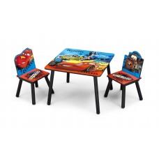 Gyerekasztal székekkel - Verdák  Előnézet