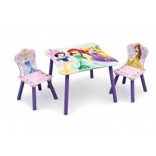 Gyerekasztal székekkel - Hercegnős II  Előnézet