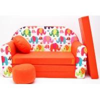 Gyerek kanapé - elefántos