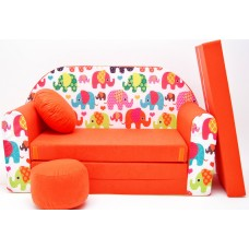 Gyerek kanapé - elefántos Előnézet