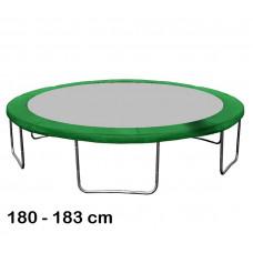 Aga rugótakaró 180 cm átmérőjű trambulinhoz - Sötét zöd Előnézet