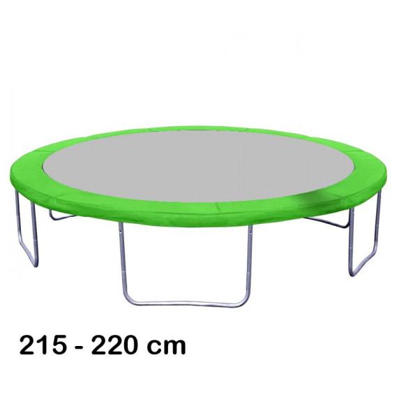 Aga rugótakaró 220 cm átmérőjű trambulinhoz - Világos zöd