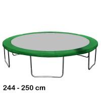 Aga trambulin rugótakaró 250 cm - Sötét zöld