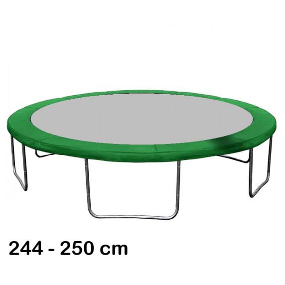 Aga rugótakaró 250 cm átmérőjű trambulinhoz - Sötét zöld