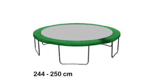 Aga rugótakaró 250 cm átmérőjű trambulinhoz Sötét zöld | Rugótakaró | Inlea.hu a játék webáruház