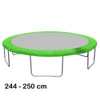 Aga rugótakaró 250 cm átmérőjű trambulinhoz - Világos zöld