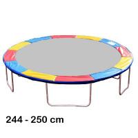 Aga rugótakaró 250 cm átmérőjű trambulinhoz - Háromszínű