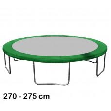 Aga rugótakaró 275 cm átmérőjű trambulinhoz - Sötét zöld Előnézet