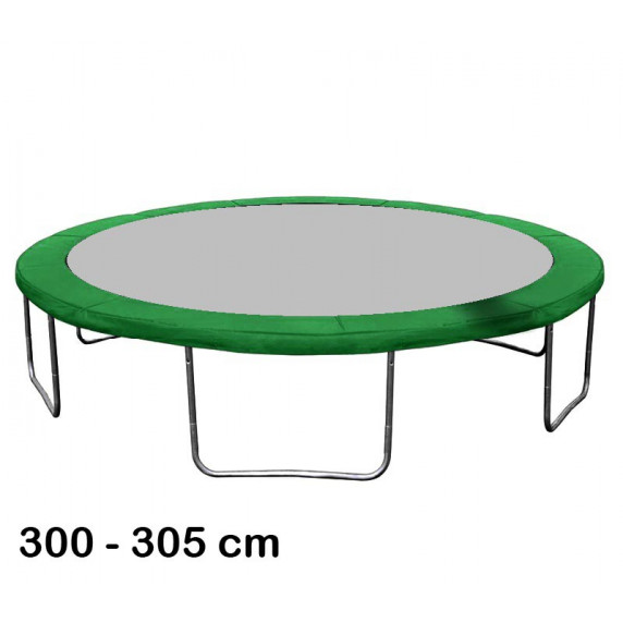 Aga rugótakaró 305 cm átmérőjű trambulinhoz - Sötét zöld