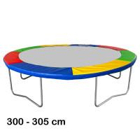 Aga rugótakaró 305 cm átmérőjű trambulinhoz - Négyszínű