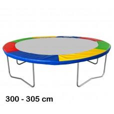 Aga trambulin rugótakaró 305 cm - Négyszínű Előnézet