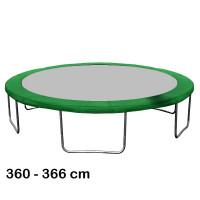 Aga rugótakaró 366 cm átmérőjű trambulinhoz - Sötét zöld