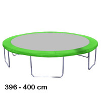 Aga rugótakaró 400 cm átmérőjű trambulinhoz - Világos zöld