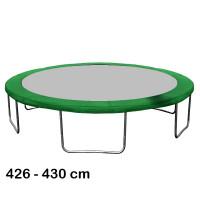 Aga trambulin rugótakaró 430 cm - Sötét zöld