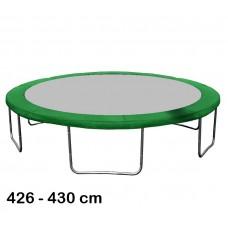 Aga rugótakaró 430 cm átmérőjű trambulinhoz - Sötét zöld Előnézet