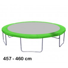 Aga rugótakaró 460 cm átmérőjű trambulinhoz - Világos zöld Előnézet