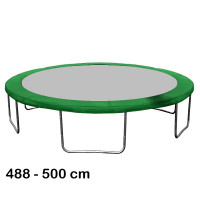 Aga rugótakaró 500 cm átmérőjű trambulinhoz - Sötét zöld