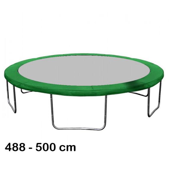 Rugótakaró 500 cm átmérőjű trambulinhoz AGA - Sötét zöld