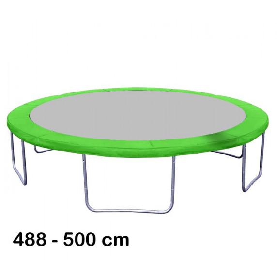 Aga rugótakaró 500 cm átmérőjű trambulinhoz - Világos zöld