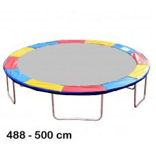 Aga rugótakaró 500 cm átmérőjű trambulinhoz - Háromszínű