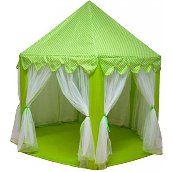 Játszósátor pavilon Aga4Kids PRINCESS CASTLE MR0009GREEN - Zöld
