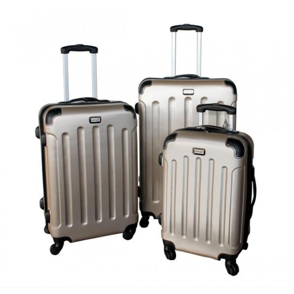 Linder Exclusiv LUXURY MC3000 Bőrönd szett S,M,L arany