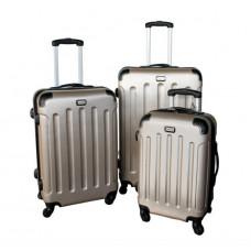 Linder Exclusiv LUXURY MC3000 Bőrönd szett S,M,L - arany Előnézet