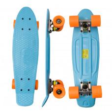 Gördeszka Aga4Kids Skateboard MR6014 - kék Előnézet