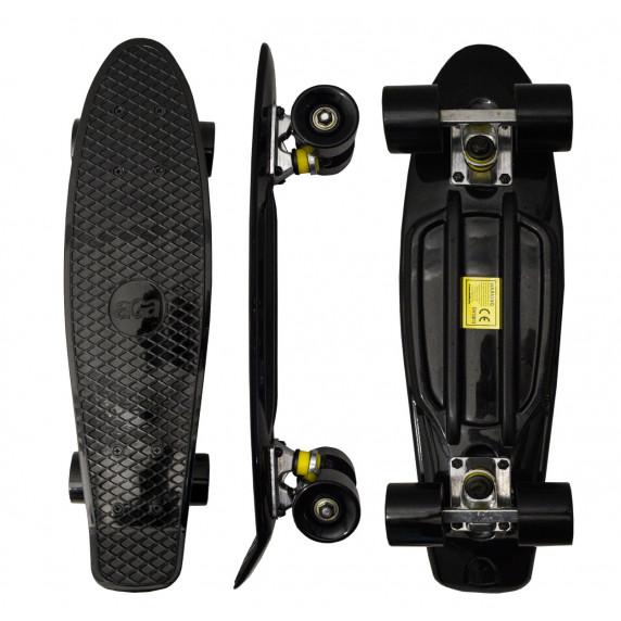 Gördeszka Aga4Kids Skateboard MR6016 - fekete