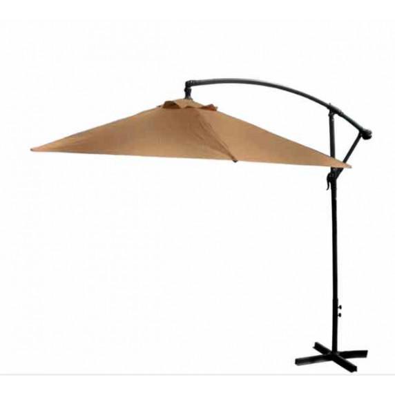 Függő napernyő 300 cm AGA EXCLUSIV Bony - Kávébarna