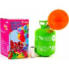 Aga4Kids PARTY 30 MIX Hélium palack 30 lufi felfújásához Kék/Zöld Előnézet